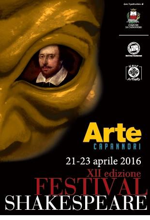dodicesimo Festival Shakespeare a Capannori