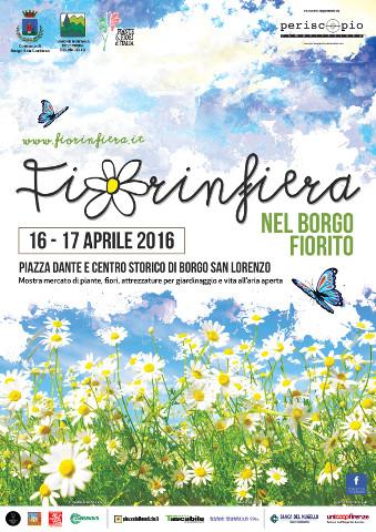"""La mostra mercato """"Fiorinfiera 2016"""" a Borgo San Lorenzo (FI)"""