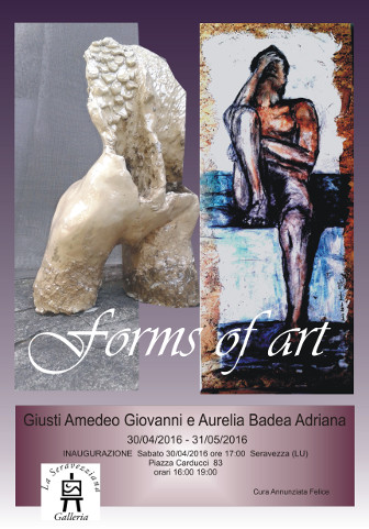 "La mostra ""Forms of art"" a Seravezza"