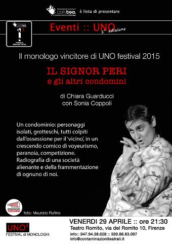 """Al Teatro del Romito di Firenze ritorna """"Il signor Peri"""""""