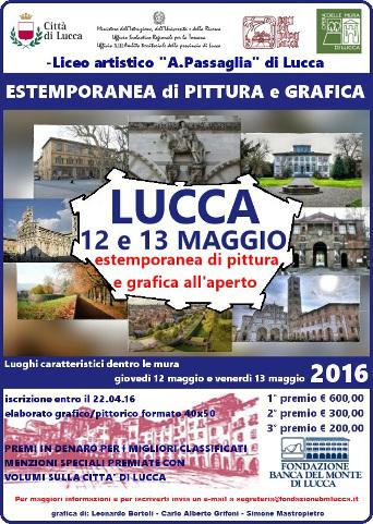 Estemporanea di pittura a Lucca