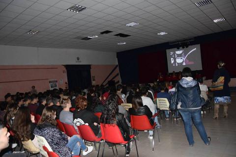 L'incontro tra la Prometeo AITF Onlus e gli studenti di Alghero