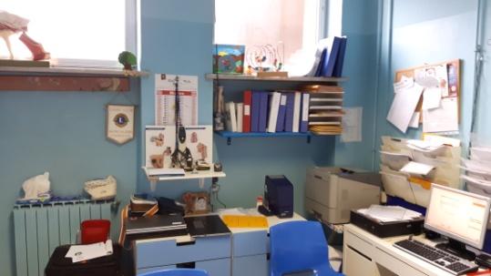 ambulatorio di Audiologia dell'ospedale Martini di Torino