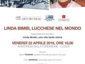 incontro a Lucca con Linda Bimbi