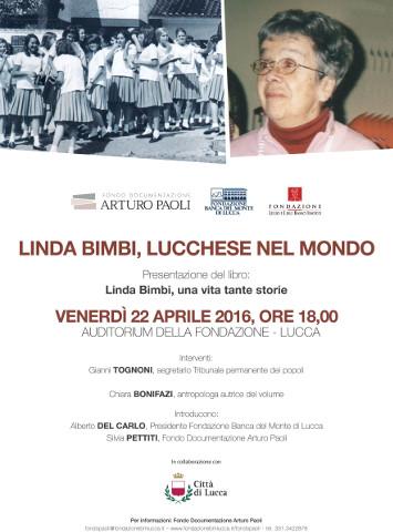 Incontro a Lucca con Linda Bimbi: una vita tante storie