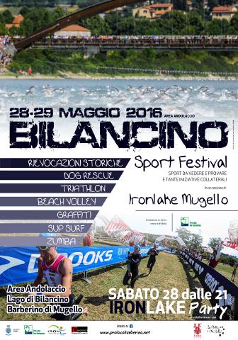Arriva il Bilancino Sport Festival 2016