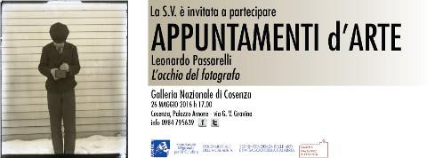 """""""L'occhio del fotografo"""": conferenza di Leonardo Passarelli a Cosenza"""
