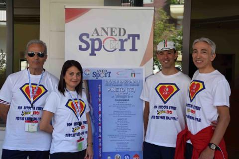 Soddisfazione per la Sardegna ai Giochi nazionali Aned