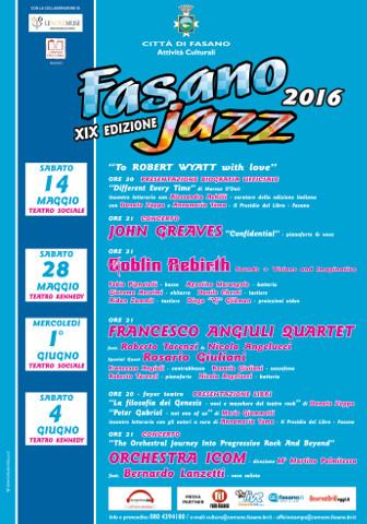 I Goblin Rebirth al Fasano Jazz 2016