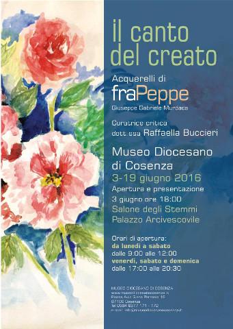 """Mostra """"Il canto del creato"""" a Cosenza"""