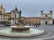piazza duomo a L'Aquila