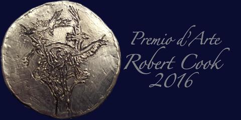 Logo Premio d'arte Robert Cook