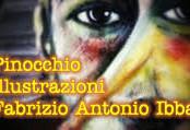 Pinocchio dipinto da Fabrizio Antonio Ibba