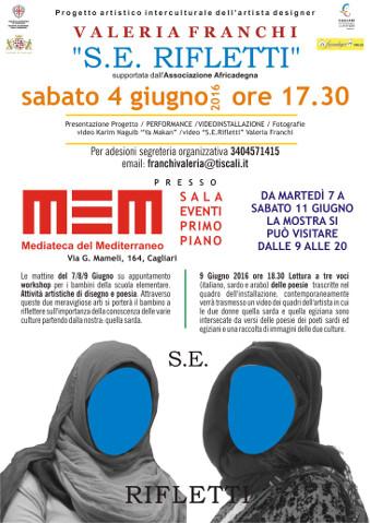 """Il progetto artistico interculturale """"S.E.Rifletti"""" a Cagliari"""