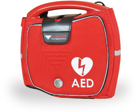 valigetta del defibrillatore