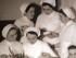 alcune infermiere in una vecchia foto