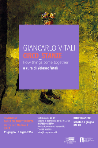 """""""Circo_stanze"""": mostra di Giancarlo Vitali a Lucca"""