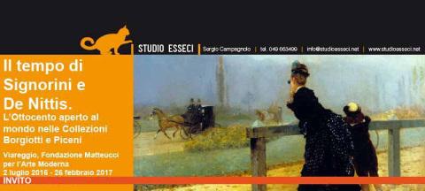 """""""Il tempo di Signorini e De Nittis"""": mostra a Viareggio"""