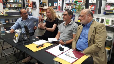 Michele Paolino, Line Danielsen, Andrea Bolfi ed Ernesto Bodini