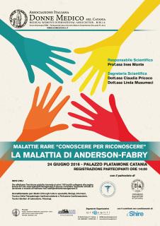 Incontro sulla malattia di Anderson-Fabry a Catania