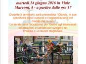 il seminario destinazione olanda a Cagliari