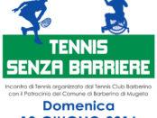 tennis senza barriere a Barberino