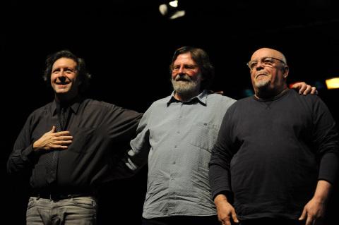 Ellade Bandini, Giorgio Cordini e Mario Arcari