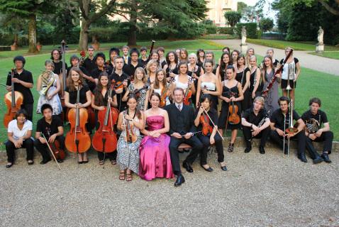 La Musikgymnasium Orchester di Graz a Firenze