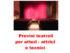 Provini al Teatro della Memoria per stagione 2016-2017