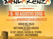 San Lorenzo 2016 a Borgo San Lorenzo