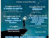 il festival Luna, note e parole a Vicchio