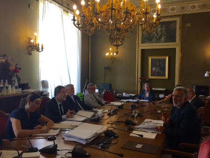 Il sindaco di Messina Accorinti ascoltato dall'Antimafia Regionale