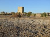 pulizia con le ruspe nel borgo medievale di Campofelice