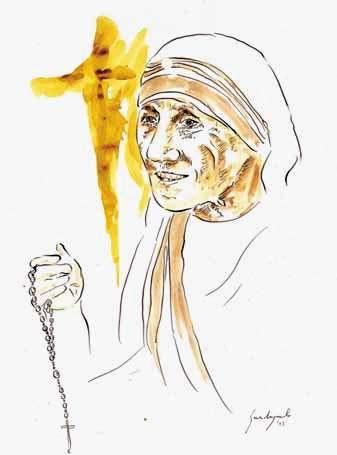 """La mostra """"Madre Teresa: la Santa dei nostri giorni"""" a Roma"""