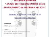 convegno Sardegna Migrante a Gesico