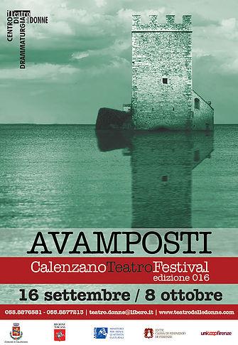 "Torna ""Avamposti – CalenzanoTeatroFestival"""