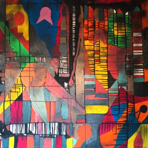 """""""Vitalità dei linguaggi"""", mostra di Alberto Baumann a Roma"""
