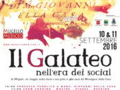 Mugello Mediceo 2016 e Galateo nell'era dei social