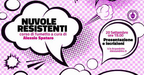 """""""Nuvole resistenti"""", corso di fumetto a Roma"""