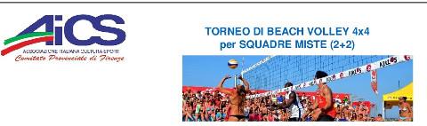 Torneo di beach volley per squadre miste a Firenze