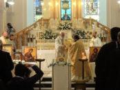 celebrazione nel Santuario del Volto Santo a Manoppello
