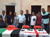 delegazione palestinese a Monserrato