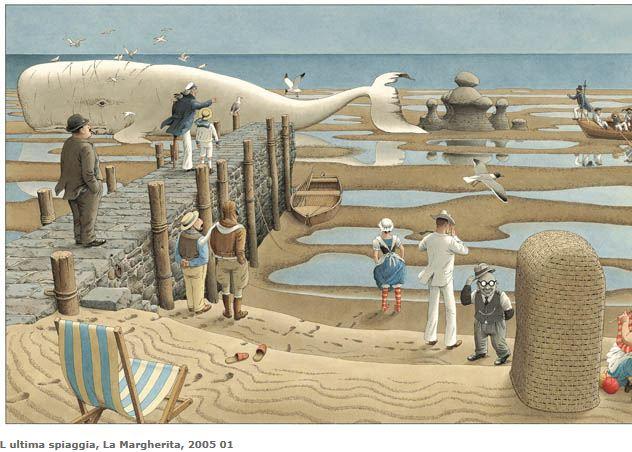tavola de L'ultima spiaggi di Roberto Innocenti