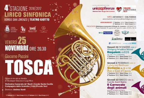 Borgo San Lorenzo: cena a sostegno della Stagione Lirico Sinfonica al Teatro Giotto