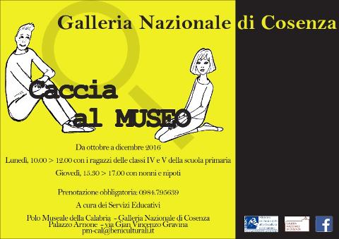 caccia al museo a Cosenza