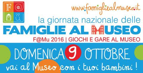 """Il Polo Museale della Calabria aderisce a """"Famiglie al museo"""""""