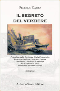 """""""Il segreto del verziere"""", romanzo d'esordio di Federico Carro"""