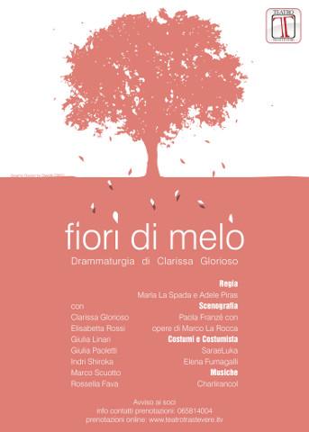 Lo spettacolo Fiori di Melo al Teatro Trastevere a Roma