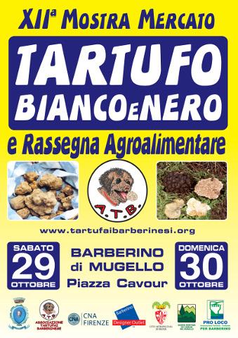 XII Mostra mercato del Tartufo bianco e nero a Barberino di Mugello