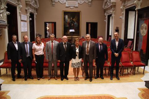 delegazioni della bielorussia  e dell'università di cagliari